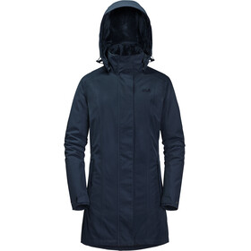 Jack Wolfskin Madison Avenue Hardshell Coat Women midnight blue